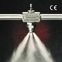 Boquilla de pulverización / de chorro plano / para líquido / de mezcla interna