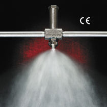 Boquilla de atomización de pulverización / de mezcla externa