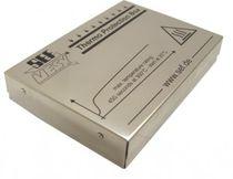 Caja en miniatura / rectangular / para equipamiento electrónico / totalmente aislada