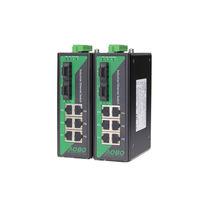Conmutador Ethernet administrable / 9 puertos / en riel DIN / de exterior