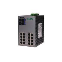 Conmutador Ethernet administrable / 28 puertos / en serie / en riel DIN