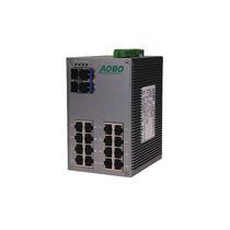 Conmutador Ethernet no administrables / 24 puertos / Gigabit Ethernet / para montaje sobre riel DIN