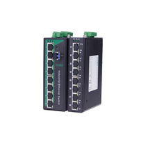 Conmutador Ethernet no administrables / 9 puertos / Gigabit Ethernet / para montaje sobre riel DIN