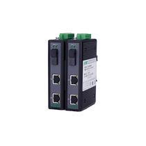 Transceptor para fibra óptica / Gigabit Ethernet / en riel DIN / para redes de telecomunicaciones