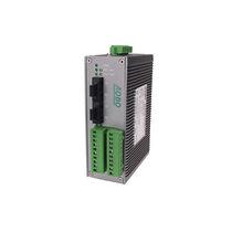Transceptor para fibra óptica / de datos / en riel DIN