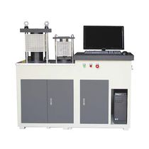 Máquina de prueba de flexión / para cemento / automática / servoeléctrica