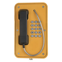 Teléfono resistente a las inclemencias / antivandalismo / analógico / para aplicaciones ferroviarias
