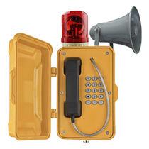 Teléfono antivandalismo / resistente a las inclemencias / IP66 / IP67