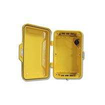 Caja de pared / rectangular / de aleación / de aluminio