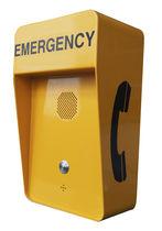 Terminal telefónico GSM / analógico / de manos libres / de emergencia