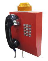 Teléfono analógico / VoIP / IP65 / para aplicaciones ferroviarias
