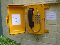 Teléfono VoIP / IP67 / para aplicaciones ferroviarias / para aplicaciones marinas