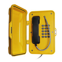 Teléfono resistente a las inclemencias / IP67 / antivandalismo / analógico