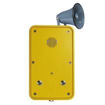 Teléfono resistente a las inclemencias / IP67 / analógico / SIP