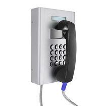 Teléfono GSM / VoIP / IP65 / para banco