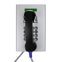 Teléfono GSM / VoIP / IP66 / para bancos