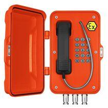 Teléfono antideflagrante / VoIP / IP67 / para mina subterránea