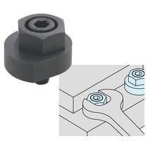 Brida de sujeción de trinquete leva / de piezas para procesar