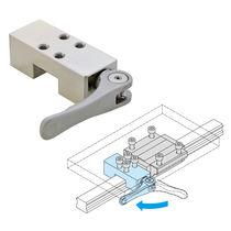Elemento de apriete manual / compacto / para guiados lineales