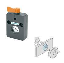 Elemento de apriete manual / compacto / de eje
