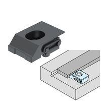 Elemento de apriete manual / compacto / horizontal / para mecanizado