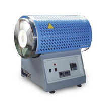 Horno tubular / eléctrico / en atmósfera controlada / de laboratorio