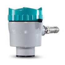 Transmisor de caudal compacto / de efecto Coriolis / para líquido / de gas