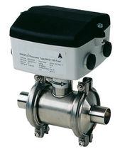 Caudalímetro electromagnético / para líquido / en línea / para la industria alimentaria