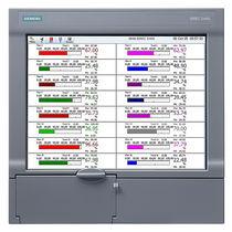 Registrador sin papel / empotrable / con pantalla táctil