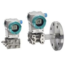Transmisor de presión relativa / de membrana / analógico / con visualización