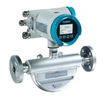 Caudalímetro másico / de efecto Coriolis / para líquido / compacto