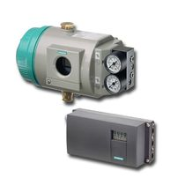 Posicionador para válvula electroneumático / rotativo / lineal / compacto