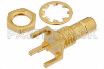 Conector RF / coaxial / cilíndrico / radiofrecuencia