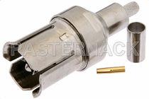 Conector RF / coaxial / rectangular / de engastar