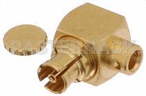 Conector para tarjeta electrónica / SMP / de ángulo recto / hembra