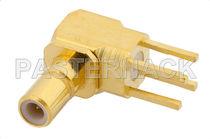 Conector PCB / coaxial / jack / de ángulo recto