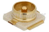 Conector para tarjeta electrónica / coaxial / MCX / circular