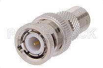 Adaptador para cable coaxial / de rosca