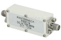 Filtro electrónico de paso bajo / pasivo / RF