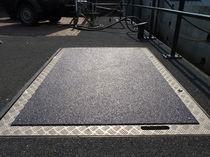 Revestimiento de suelo antideslizante / a medida / para zonas con tráfico intenso / para baldosas