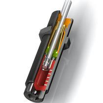 Amortiguador de choque / neumático / para máquina / autocompensador