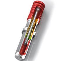 Amortiguador de choque / neumático / para máquina / de acero inoxidable