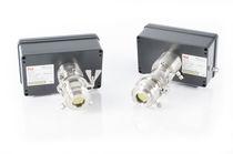 Detector óptico / de gas / en tiempo real / sin contacto