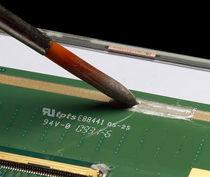 Cola goma / monocomponente / de alta temperatura / conductora eléctrica