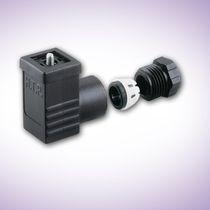 Conector para electroválvula / de alimentación eléctrica / DIN / rectangular