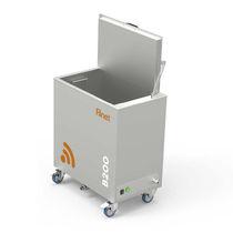 Máquina de limpieza de disolvente / de agua / de acero inoxidable / móvil