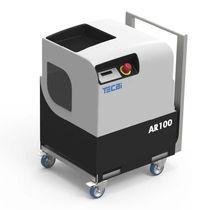 Compresor de aire / con ruedas / de motor eléctrico / de tornillo