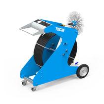 Máquina de limpieza de cepillo / de aire comprimido / para conducto / para sistema de climatización