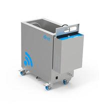 Máquina de limpieza por ultrasonidos / de acero inoxidable / móvil