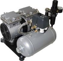 Compresor de aire / estacionario / de motor eléctrico / sin aceite